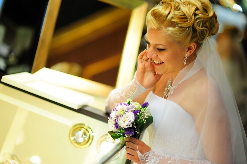 свадебные прически московских мастеров